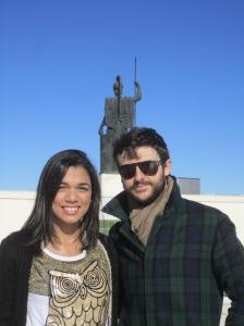 Con Diego Martín